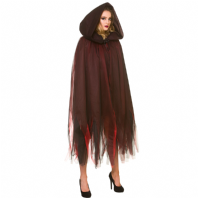 Deluxe Halloween Cape - Layered Hooded (HC5134)